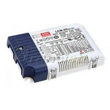 Блок питания LCM-60 (60W, 500-1400mA, 0-10V, PFC)